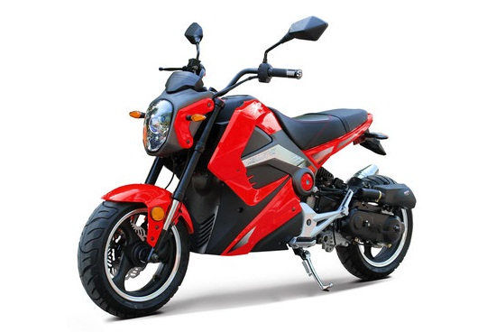 VITACCI BULLET 49.9CC MOTORSCOOTER, 4 STROKE,SINGLE CYLINDER,AIR-FORCED COOL - FULLY ASSEMBLED AND TESTED