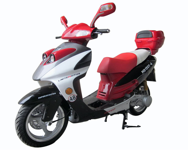 Vitacci PHANTOM 150cc (QT-12) Scooter, 4 Stroke,Single Cylinder,Air-Forced Cool
