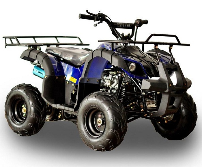 Vitacci RIDER-7 125cc ATV, Single Cylinder, 4 Stroke (Led Lights) - Fully Assembled and Tested