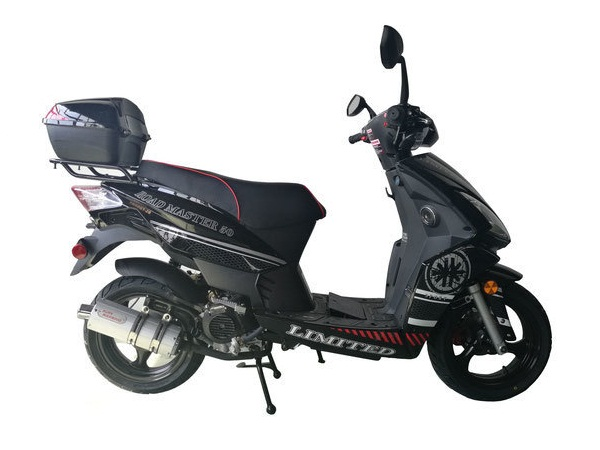 Vitacci ROAD MASTER 150cc Scooter, 4 Stroke,Single Cylinder,Air-Forced Cool