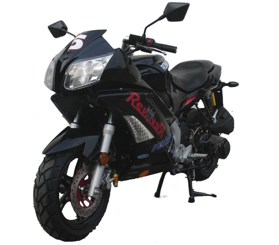 Vitacci ROMA 150cc Motorscooter, 4 Stroke,Single Cylinder,Air-Forced Cool