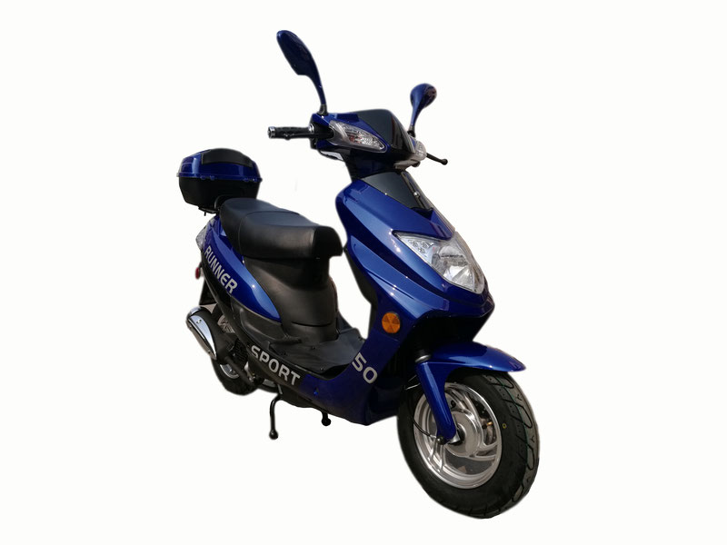 Vitacci Runner 50cc Scooter, 4 Stroke, Air-Forced Cool,Single Cylinder