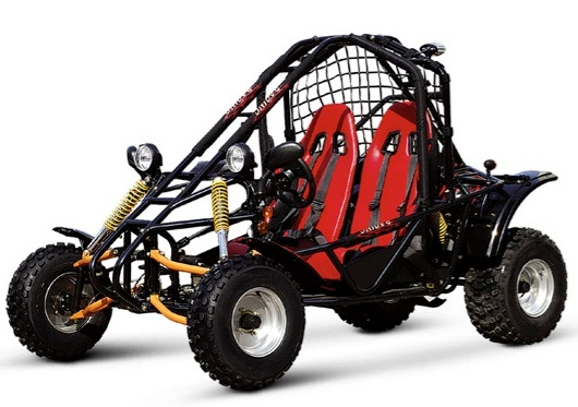 Vitacci SPIDER KD-200GKA Go Kart, 4 Stroke / Single Cylinder/ Fully Auto With Reverse