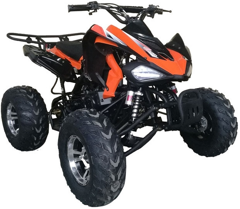 Vitacci Sports 200 169CC with Chrome Rims, Air Cooled, 4-Stroke, Cylinder, Automatic - Fully Assembled and Tested
