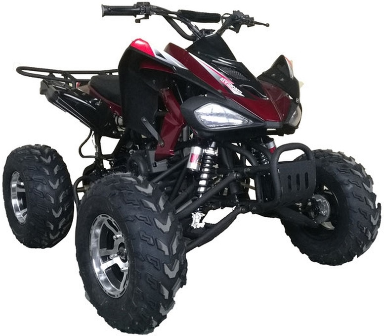 Vitacci Sports 200 169CC with Chrome Rims, Air Cooled, 4-Stroke, Cylinder, Automatic
