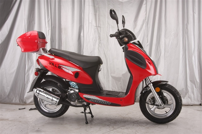 Vitacci VALERO 49cc (QT-6A) Scooter, 4 Stroke, Air-Forced Cool,Single Cylinder