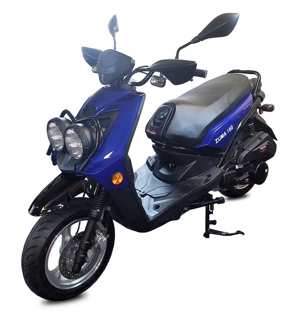 Vitacci ZUMA 150CC Scooter, 4 Stroke, Air-Forced Cool,Single Cylinder - Fully Assembled and Tested