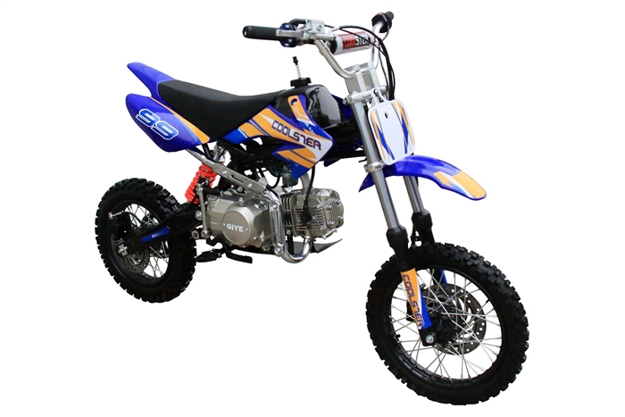 Coolster 125cc Mid Size XR-125 Dirt Bike, Semi Autometic, 4-Stroke, Air-Cooled Single Cylinder