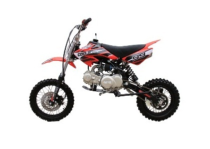 Coolster 125cc Mid Size XR-125 (Manuel) Dirt Bike, 4-Stroke, Air-Cooled Single Cylinder