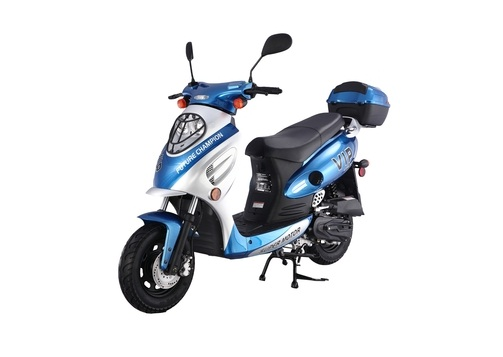 Taotao CY-50A 49cc Gas Automatic Scooter Moped Electric with Keys, Kick Start Back up Scooter