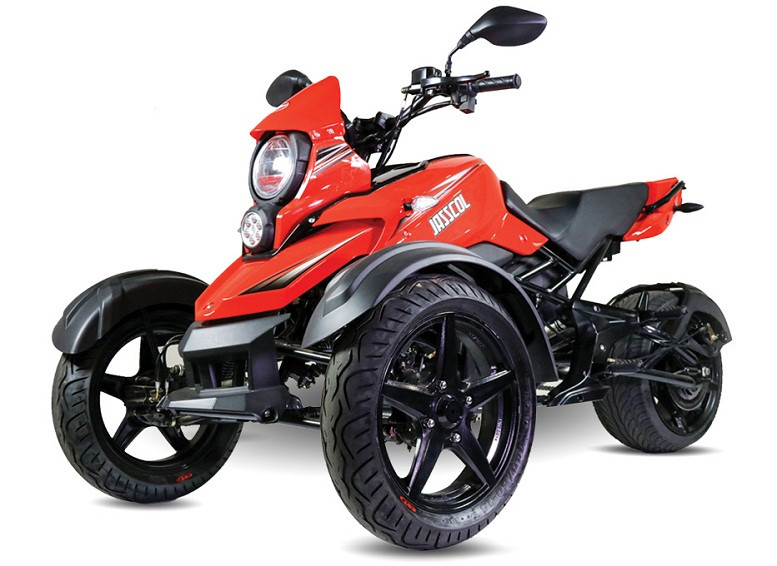 Jasscol Saber 177.3cc Trike, Air Cooled, 4-Stroke, 1-Cylinder, Electric & Kick Start