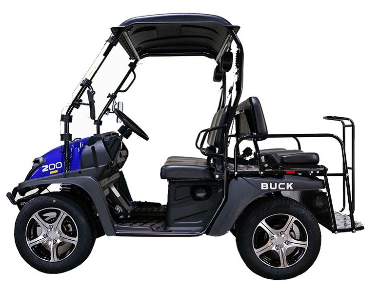 Blue - Massimo Buck 200X UTV, 177cc Four-Stroke, Single Cylinder EFI
