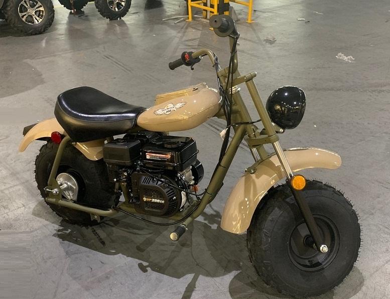 MASSIMO MINI BIKE 200, 196cc Four-Stroke, Fully Automatic Clutch Transmission