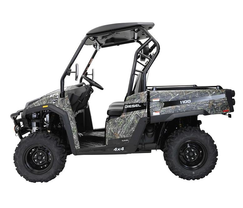 NEW MASSIMO T-BOSS-1100D UTV, 1123cc Kubota Diesel D1105-E3B, 3-Cylinder