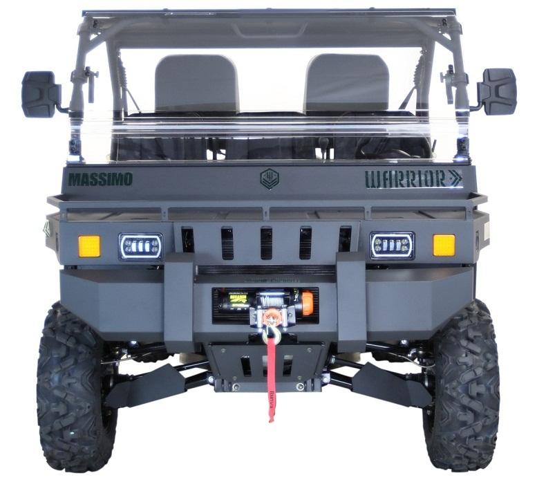 Massimo Warrior 1000X UTV, 1000cc 85HP, Liquid-Cooled, Four Stroke 2 Cylinder V-Twin