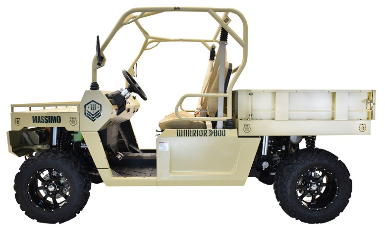 Massimo Warrior 800, 800cc 60HP, Electric, Liquid-Cooled, Four Stroke 2 Cylinder V-Twin