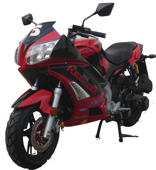 Roketa MC-06 Fully Assembled Fully Automatic Street Legal 150cc Sports Bike