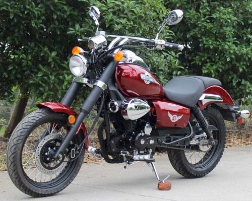 Roketa MC-141 250cc Motorbike Street Legal Bobber Chopper Motorcycle