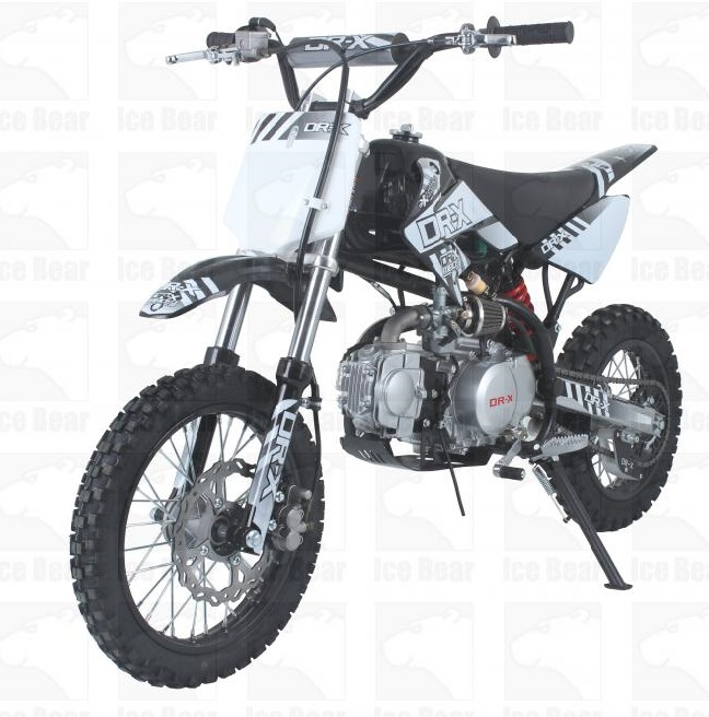 Ice Bear Scrub (PAD110-1) 110cc Dirt Bike, 4-Speeds, Kick Start, Semi Automatic