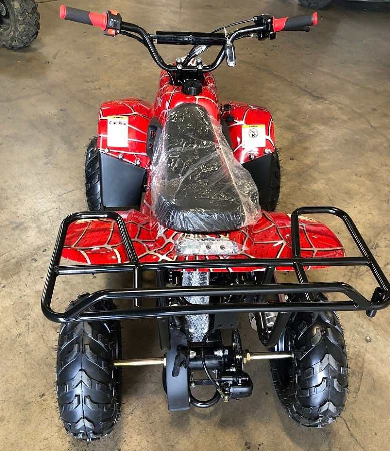 RPS 110CC Raider 6 Kids Air Cool, Single Cylinder, 4-Stroke ATV