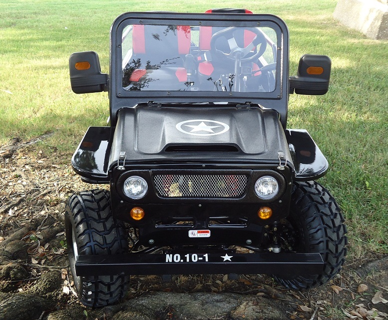 New Rps Jeep 125Cc (Tk125Jp-8) 154Fmi, Xinyuan 3-speed With Reverse - Fully Assembled And Tested