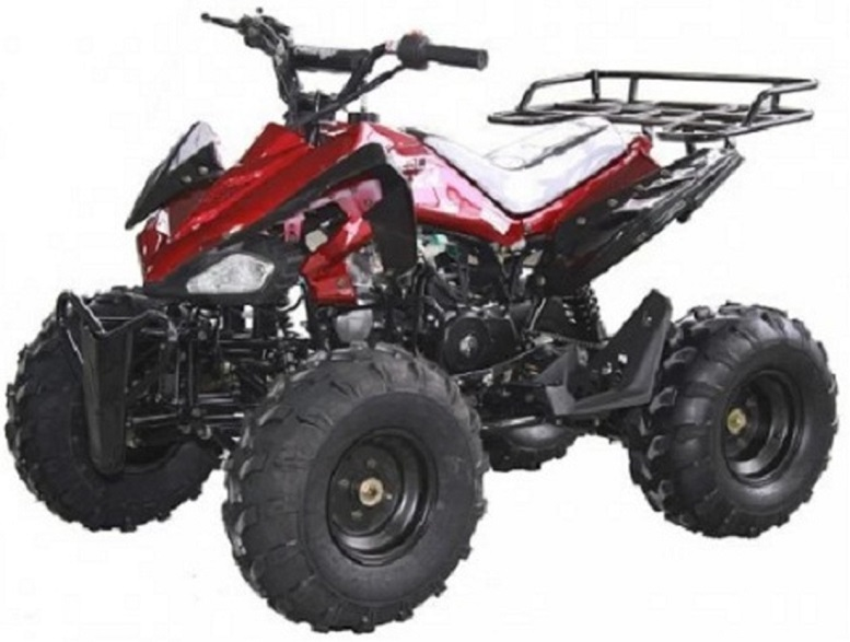 RPS New JET 8 125cc ATV with Steel Wheels Air Cooled, Single Cylinder 4 stroke