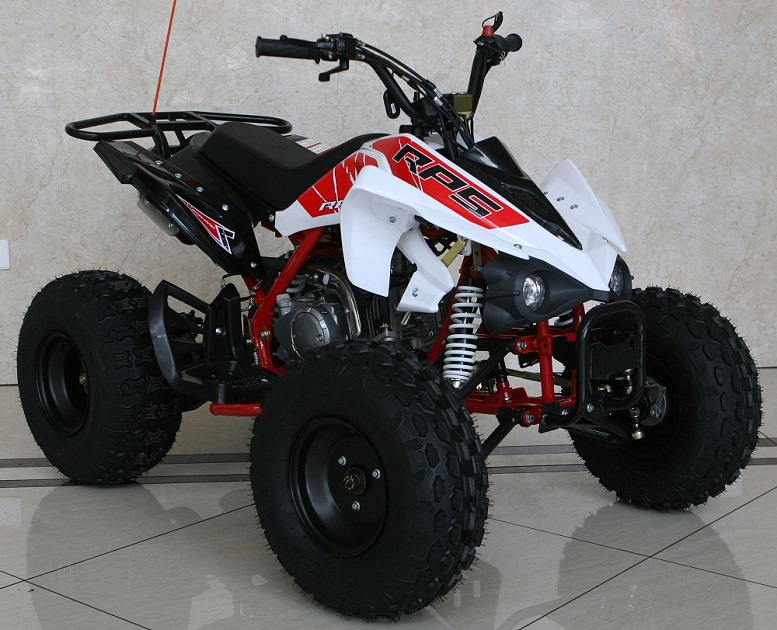 RPS Madix-7 125cc, Automatic 4-Stroke, 1-Cylinder, Air Cooled