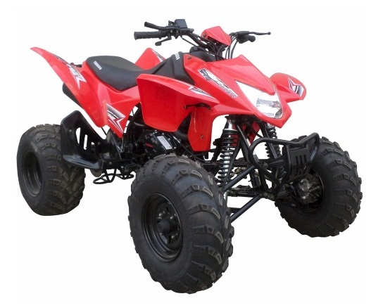RPS New Atv 250 Cc Tornado 4-Speed Plus Neutral/Reverse