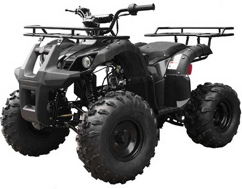 Taotao TFORCE Mid Size ATV 135D, 125CC Air Cooled, 4-Stroke, 1-Cylinder, Automatic with Reverse ATV - Fully Assembled and Tested
