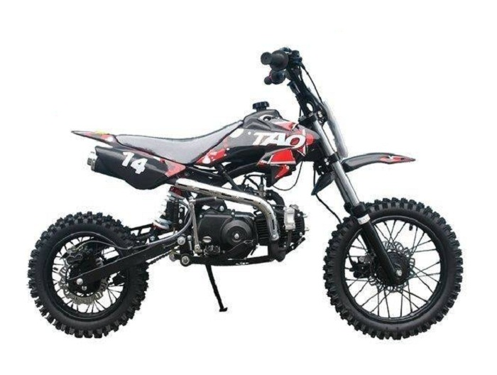 Taotao DB14 Semi-Automatic Off-Road Dirt Bike, Air Cooled, 4-Stroke, 1-Cylinder - Fully Assembled and Tested
