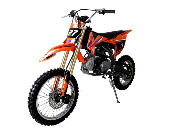 TaoTao DB27 125cc Off-Road Dirt Bike, Kick Start, Air Cooled, 4-Stroke, 1-Cylinder - Fully Assembled and Tested