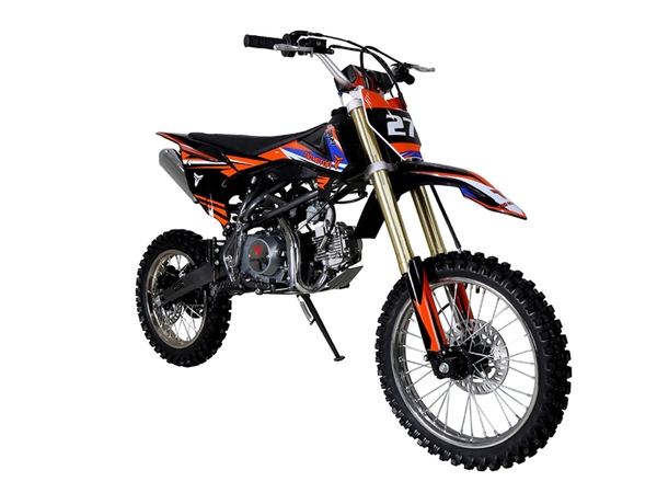 TaoTao DB27 125cc Off-Road Dirt Bike, Kick Start, Air Cooled, 4-Stroke, 1-Cylinder