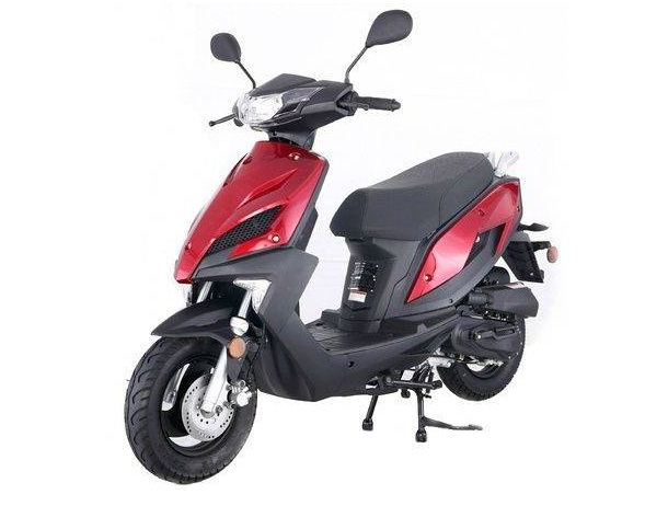 Taotao JET50 (NewSpeed50) Replaceable Plastic Body Gas Street Legal Scooter - Fully Assembled and Tested
