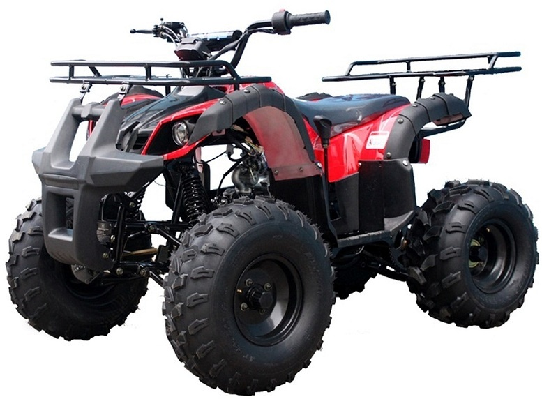 Taotao TFORCE Mid Size ATV 135D, 125CC Air Cooled, 4-Stroke, 1-Cylinder, Automatic with Reverse ATV