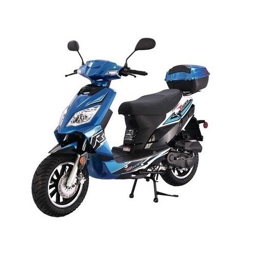 Taotao Thunder 50cc Free Matching Trunk Gas Street Legal Scooter