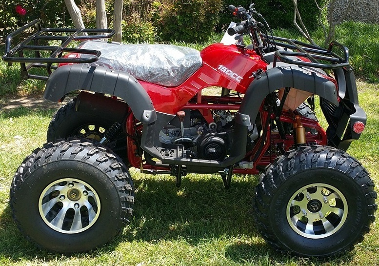 RPS TK150-B 150cc ATV, Single Cylinder Four Stroke Air Cooled, Automatic With Reverse