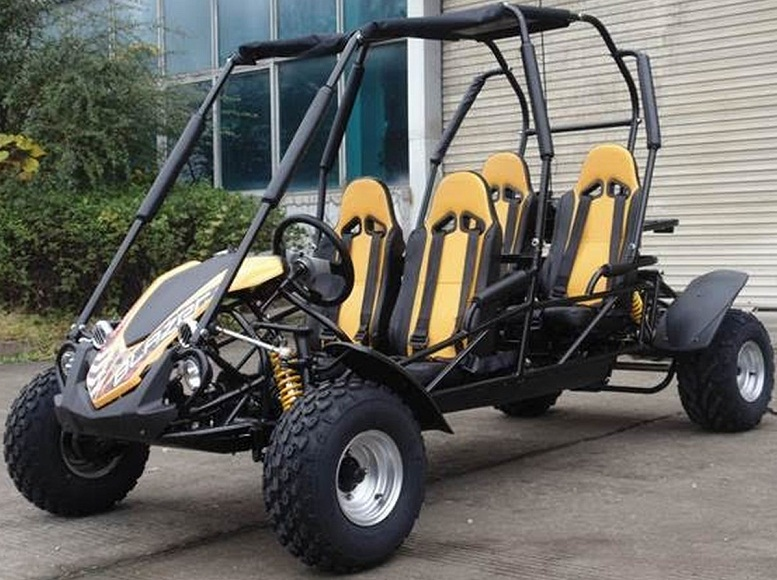 TrailMaster Blazer 4 150CC Family Size 4-Seater, 4-Stroke, Single Cylinder, Air Cooled Go Kart