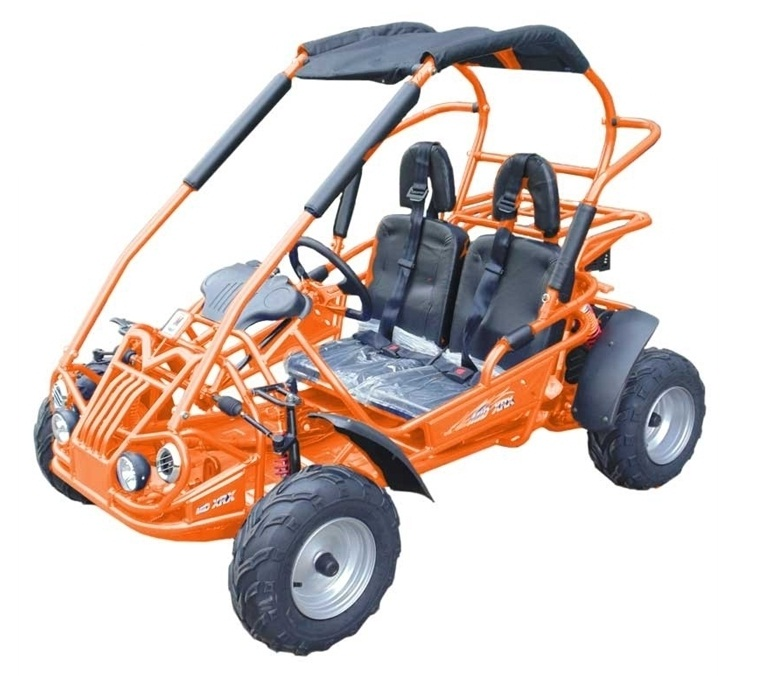 TrailMaster Mid XRX, 4-Stroke, Air Cooled, Single Cylinder GoKart, Carb Approved - Fully Assembled and Tested