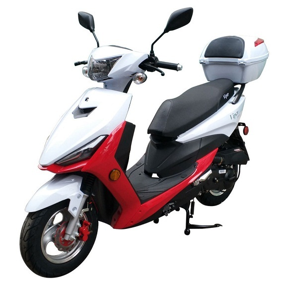 Vitacci Viper 49cc Scooter, 4 Stroke, Single Cylinder, Air-Forced Cool - Fully Assembled and Tested