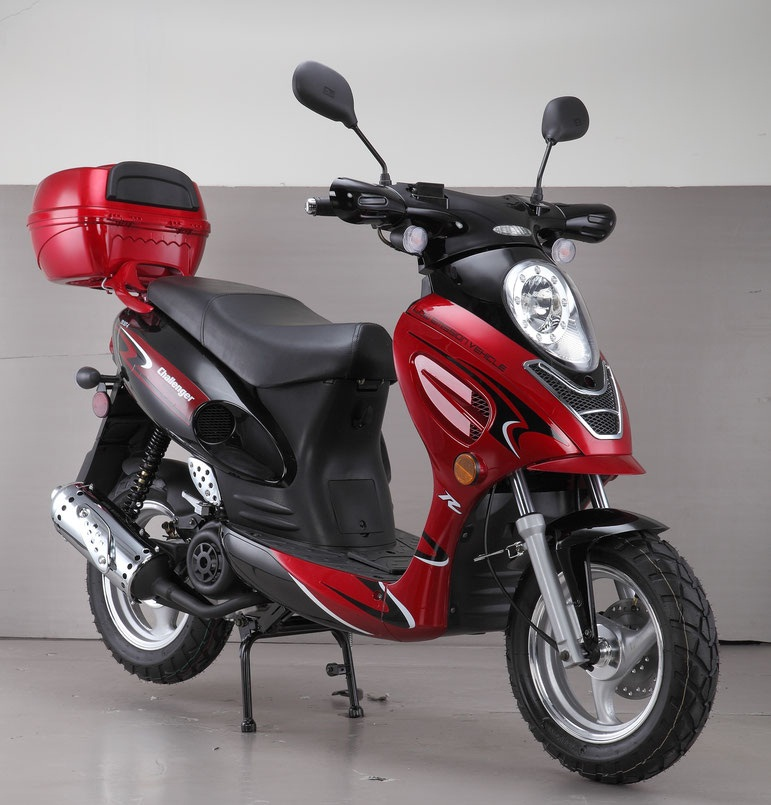VITACCI CHALLENGER 50cc Scooter, 4 Stroke, Air-Forced Cool,Single Cylinder