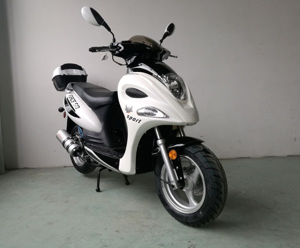Vitacci Force 150cc Scooter, 4 Stroke, Single Cylinder, Air-Forced Cool - Fully Assembled and Tested