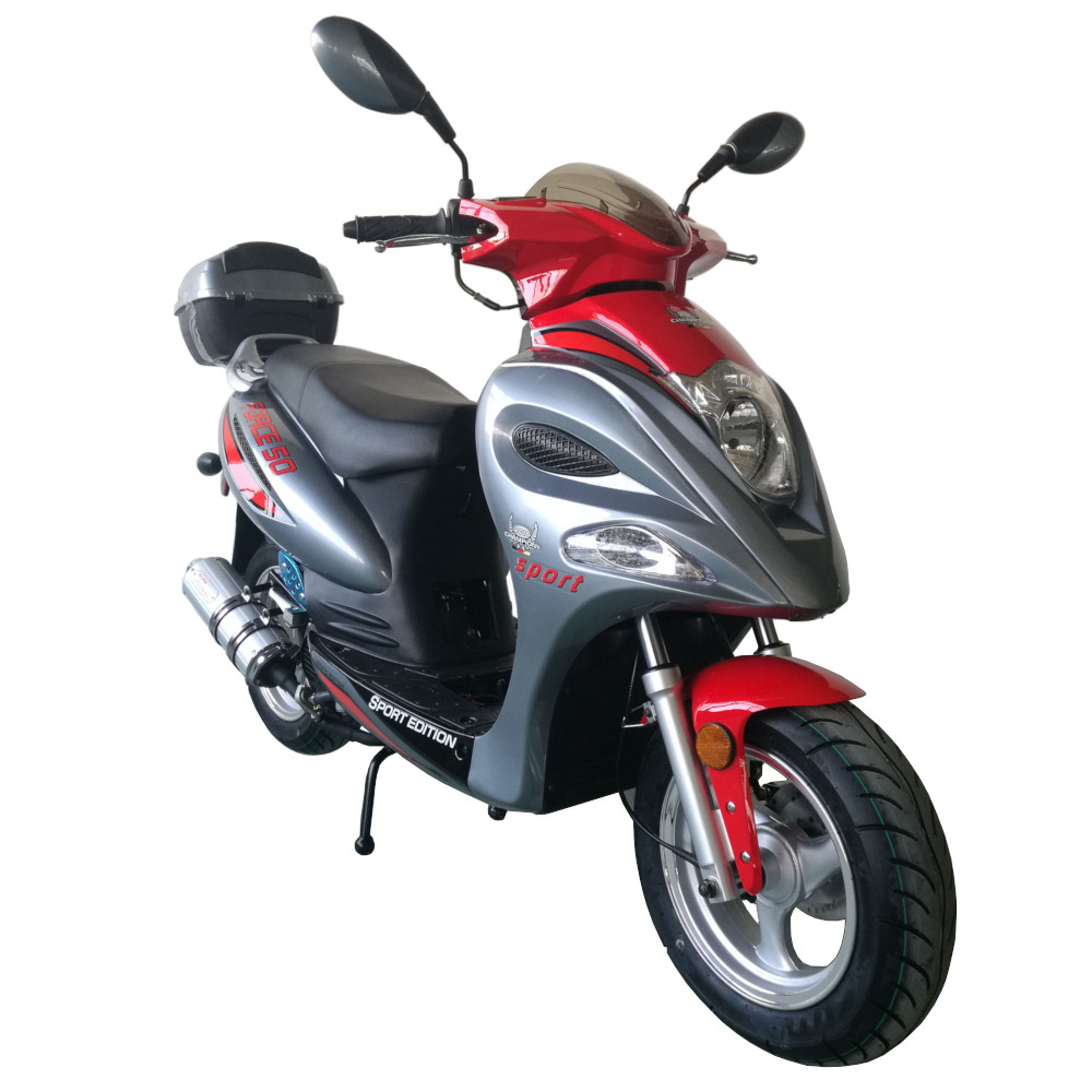 Vitacci Force 49cc Scooter, 4 Stroke, Single Cylinder, Air-Forced Cool - Fully Assembled and Tested