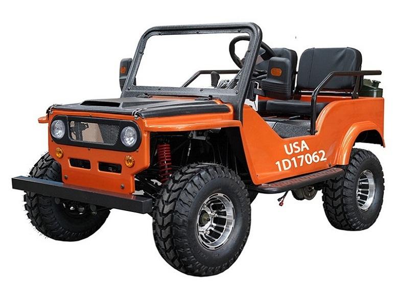 Vitacci Jeep 125cc, 154FMI, XinYuan Go-Kart With Disc Brakes