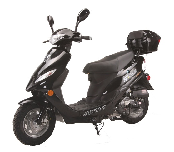 VITACCI  SOLANA 49cc QT-5 Scooter, 4 Stroke, Air-Forced Cool, Single Cylinder - Fully Assembled and Tested
