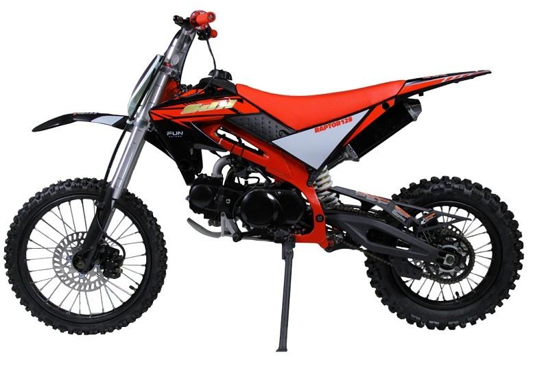 Jasscol XB-33 125cc Dirt Bike, Single Cylinder, 4 Stroke, Air-Cooling