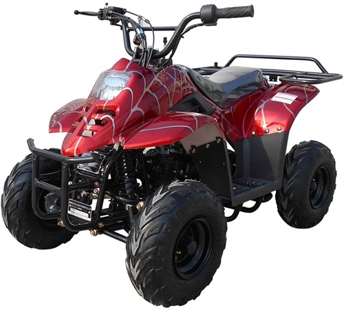 """ICE BEAR 110cc Youth ATV Automatic w/ Reverse Remote Control, 6"""" Tires (PAH110-2), CARB APPROVED"""