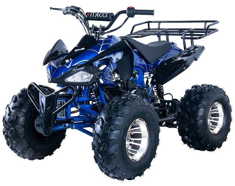 New Vitacci JET-10 DLX 125cc ATV, Alloy Wheels Auto with Reverse
