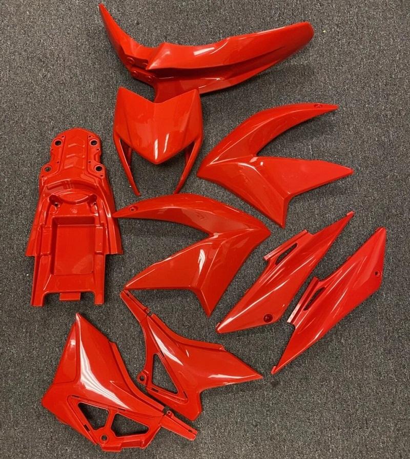 Complete Plastics Kit for RPS Hawk 250 - Carbureted Model