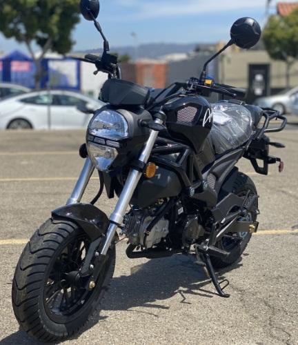 Amigo MORRO 125cc, Manual Transmission, Gas Moped Scooter