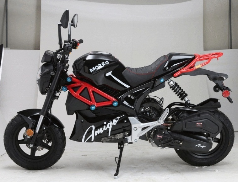 Amigo 2021 Morro-150 Fully Automatic Street Bike Style Gas Scooter